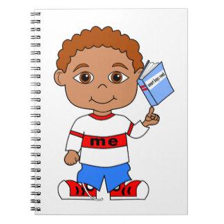 Notebook clipart boy Book Zazzle Cool & Journals