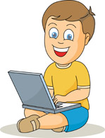 Notebook clipart boy Search operating  Pictures view