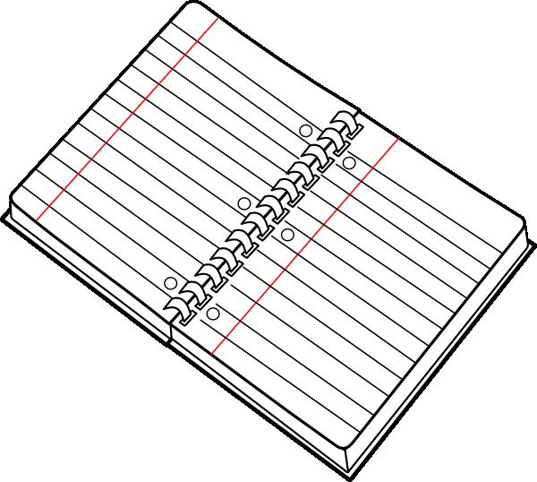 Notebook clipart cartoon Online art art clip Spiral