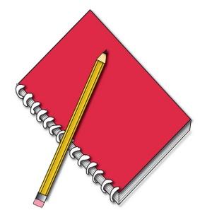 Notebook clipart classwork Learning Spanish 2 : Classwork