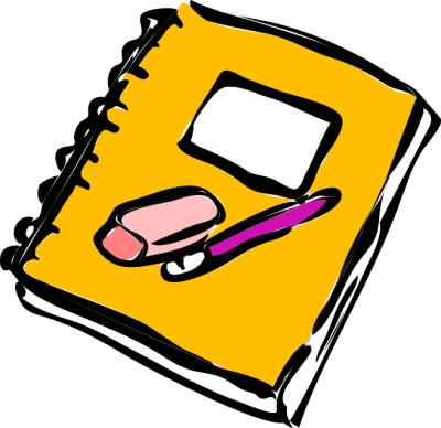 Notebook clipart classwork & for / Mr Week
