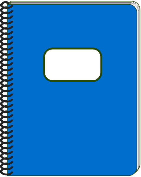 Cover clipart notebook Clip this delete form