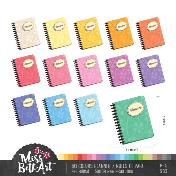 Notebook clipart colorful From Colors from Download