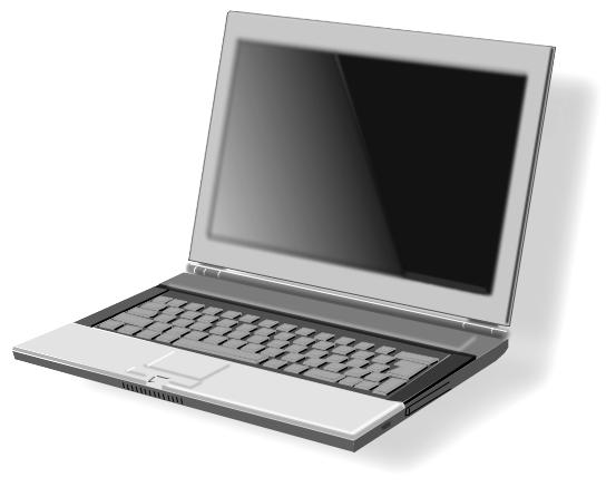 Notebook clipart computer Laptop Notebook Art #6065 Computer