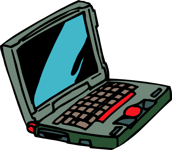 Notebook clipart computer Laptop Laptop Image 11692 Free