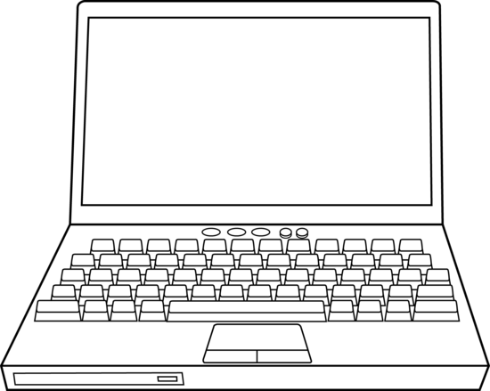 Notebook clipart computer Laptop Computer Art Free Laptop