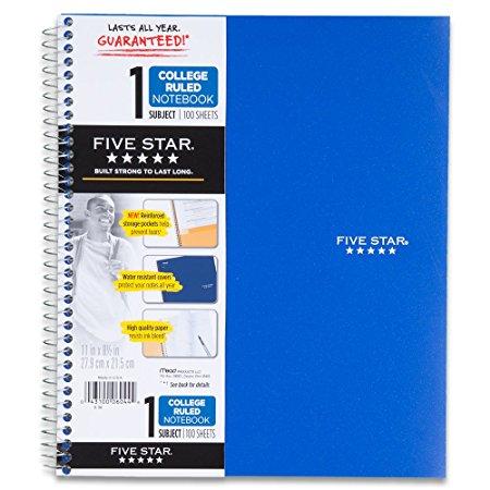 Notebook clipart five Office x Five com 5