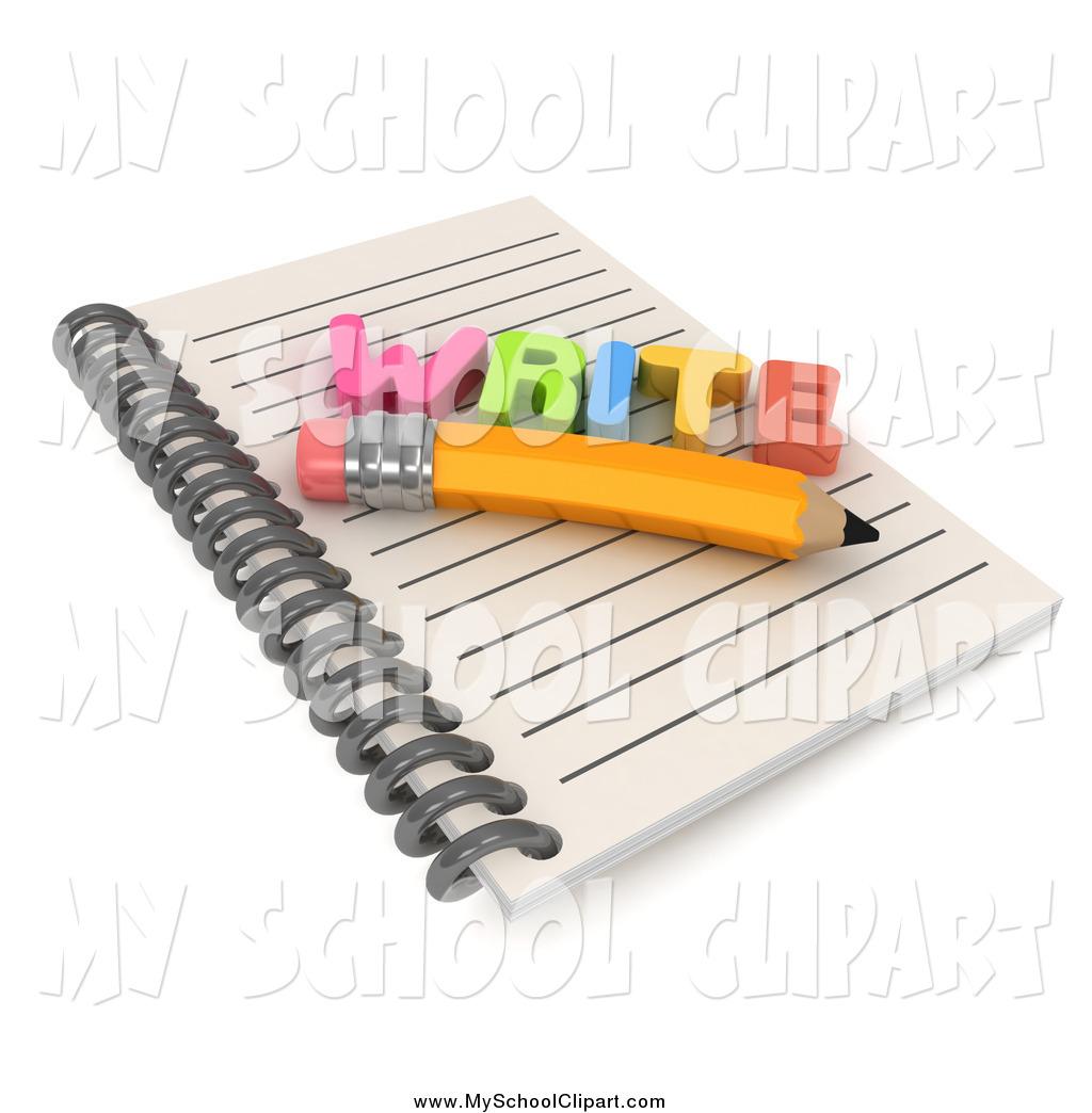 Notebook clipart free school School Royalty Designs Free Pencil