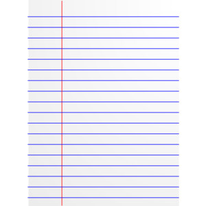 Notebook clipart lined paper Lined paper clipart lined clipartfest