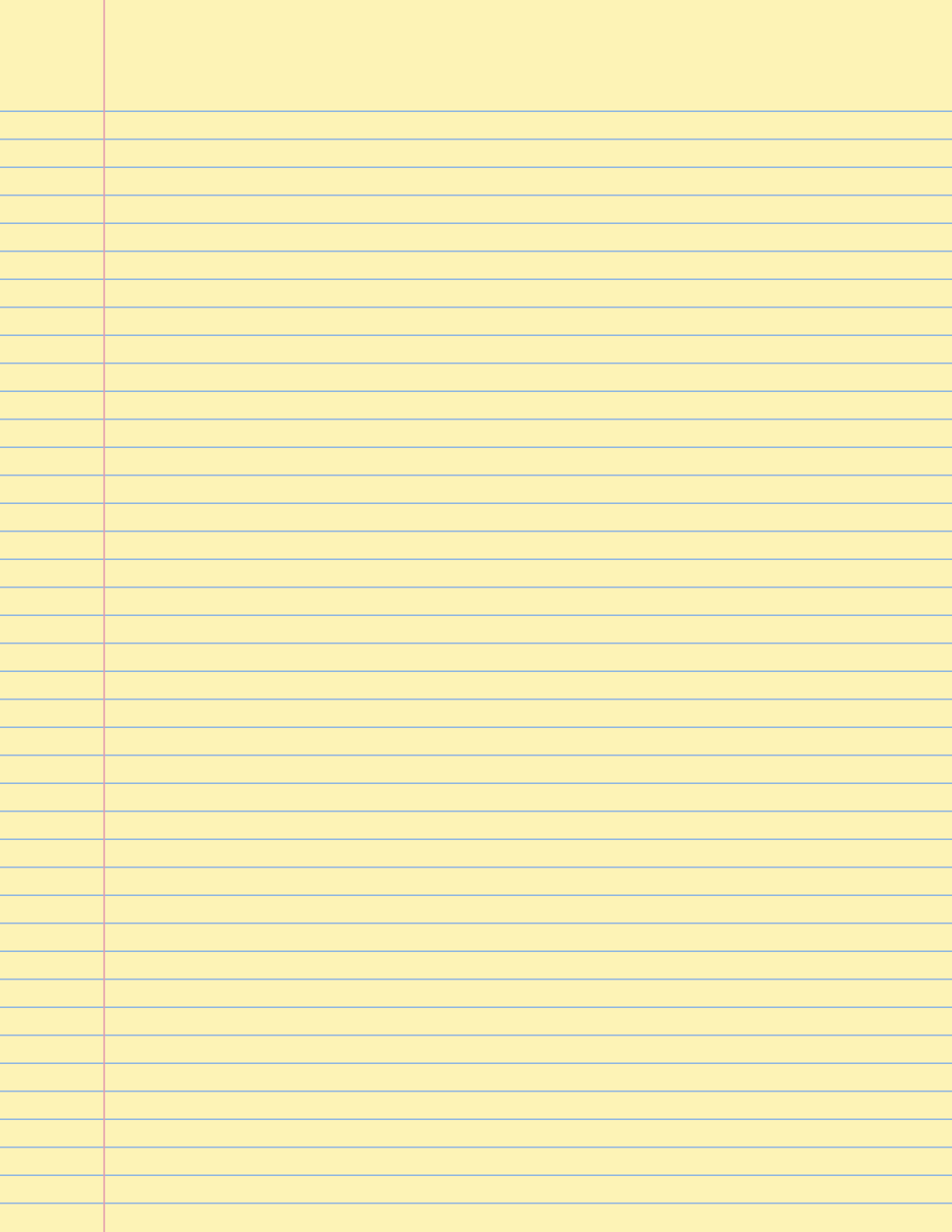 Notebook clipart lined paper Yellow lined 2 paper ClipartBarn