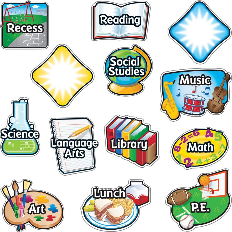 Notebook clipart math subject Labels Magnetic  Subject