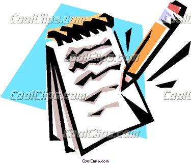 Notebook clipart notepad Info and Free Clipart Pencil