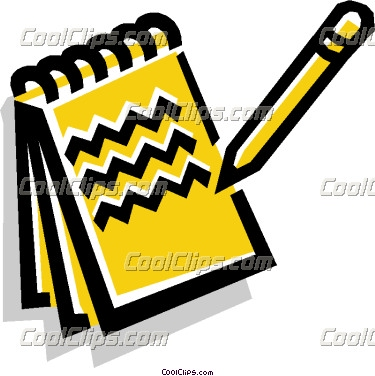 Notebook clipart notepad Info and Free Clipart notepad