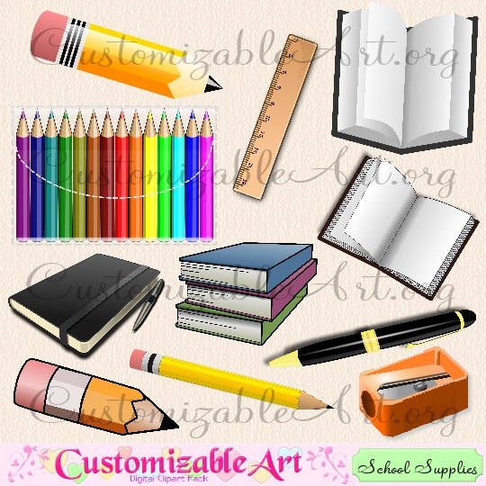 Notebook clipart office stationery School Office Stationary Art Stationary