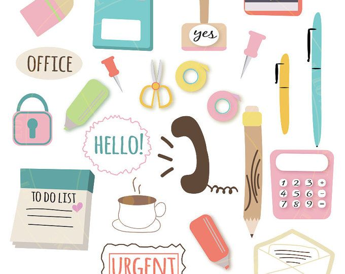 Notebook clipart office stationery SHOP School Clipart ideas Cent