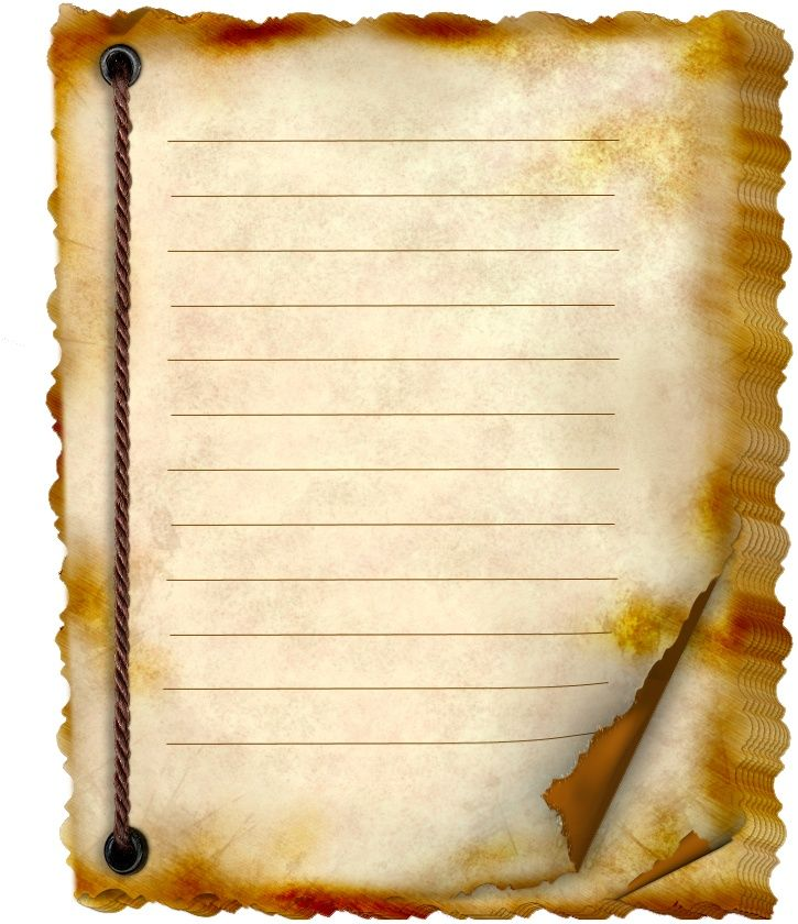 Old Letter clipart notebook AND on 218 STATIONERY SCROLLS