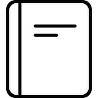 Notebook clipart outline Notebook Download Notebook cover tabs