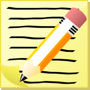 Pencil clipart powerpoint Paper  Lined on Clip