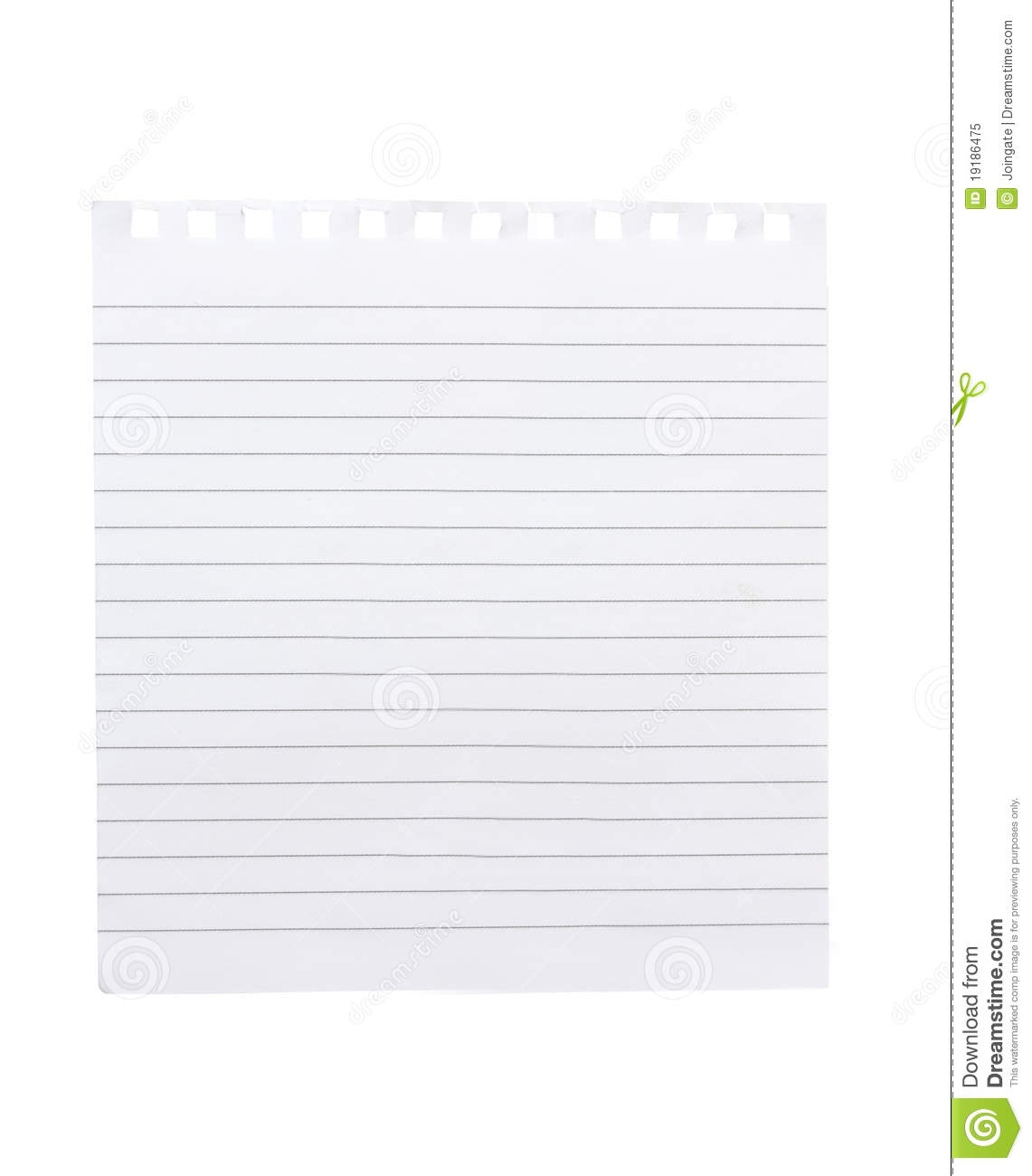 Notebook clipart piece paper Com of paper Paper notebook