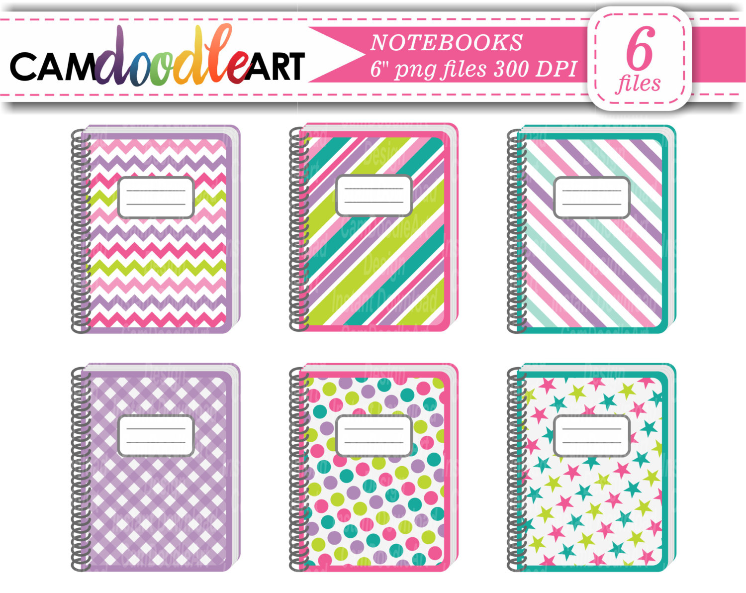 Notebook clipart purple Green Clipart Purple Notebook Collection