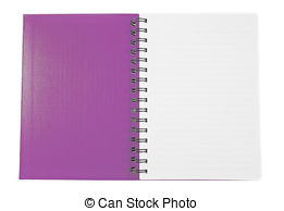 Notebook clipart purple Text of ·  purple
