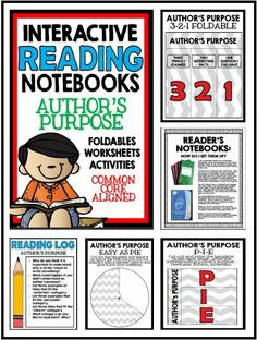 Notebook clipart reader Purpose Because Notebook Author's Unit
