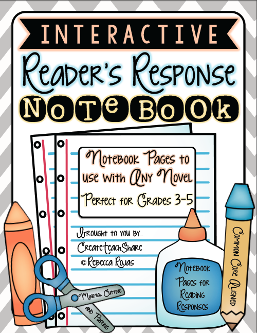 Notebook clipart reader Plan Create●Teach●Share in Response and