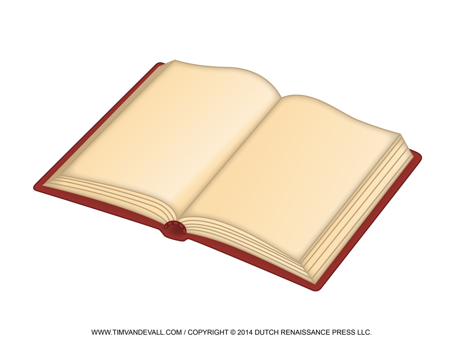 Notebook clipart red book Free Clip Open Open Template