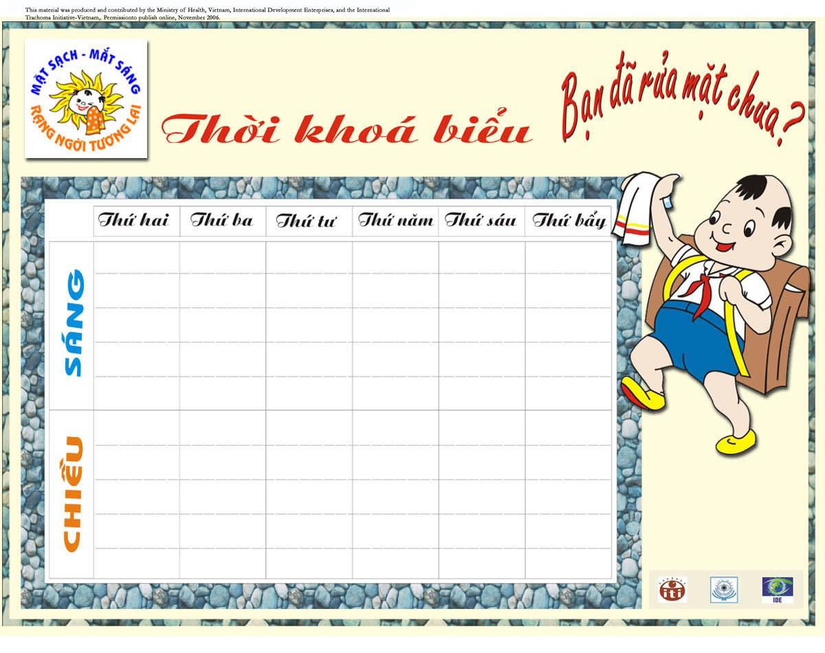 Notebook clipart school material Face School Trachoma Calendar Health