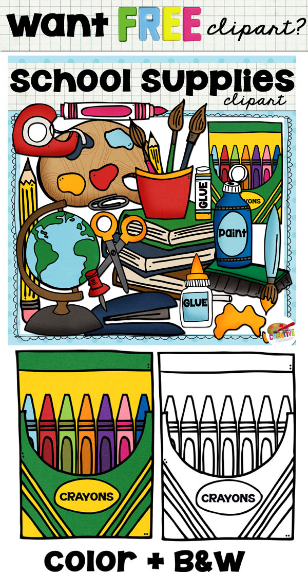 Marker clipart free school supply #2