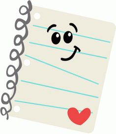Notebook clipart school material More com/graphics/school Cartoon STIKERS ruler: