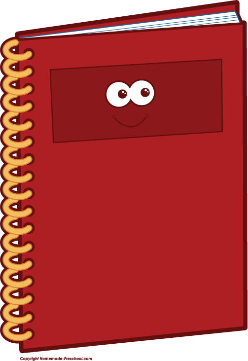Notebook clipart school notebook To Image Save Free Related