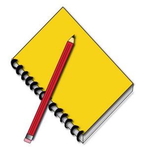 Notebook clipart school notebook Clipart Clipart Images Free Panda