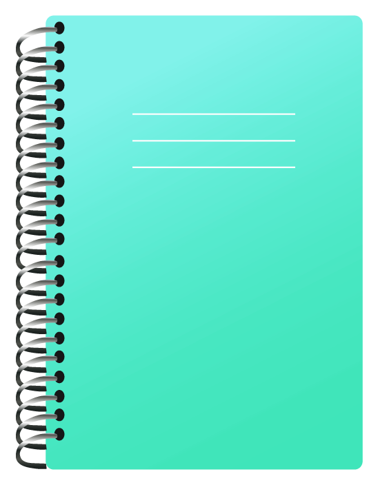 Notebook clipart school notebook Size Picture  Clipart Clipart