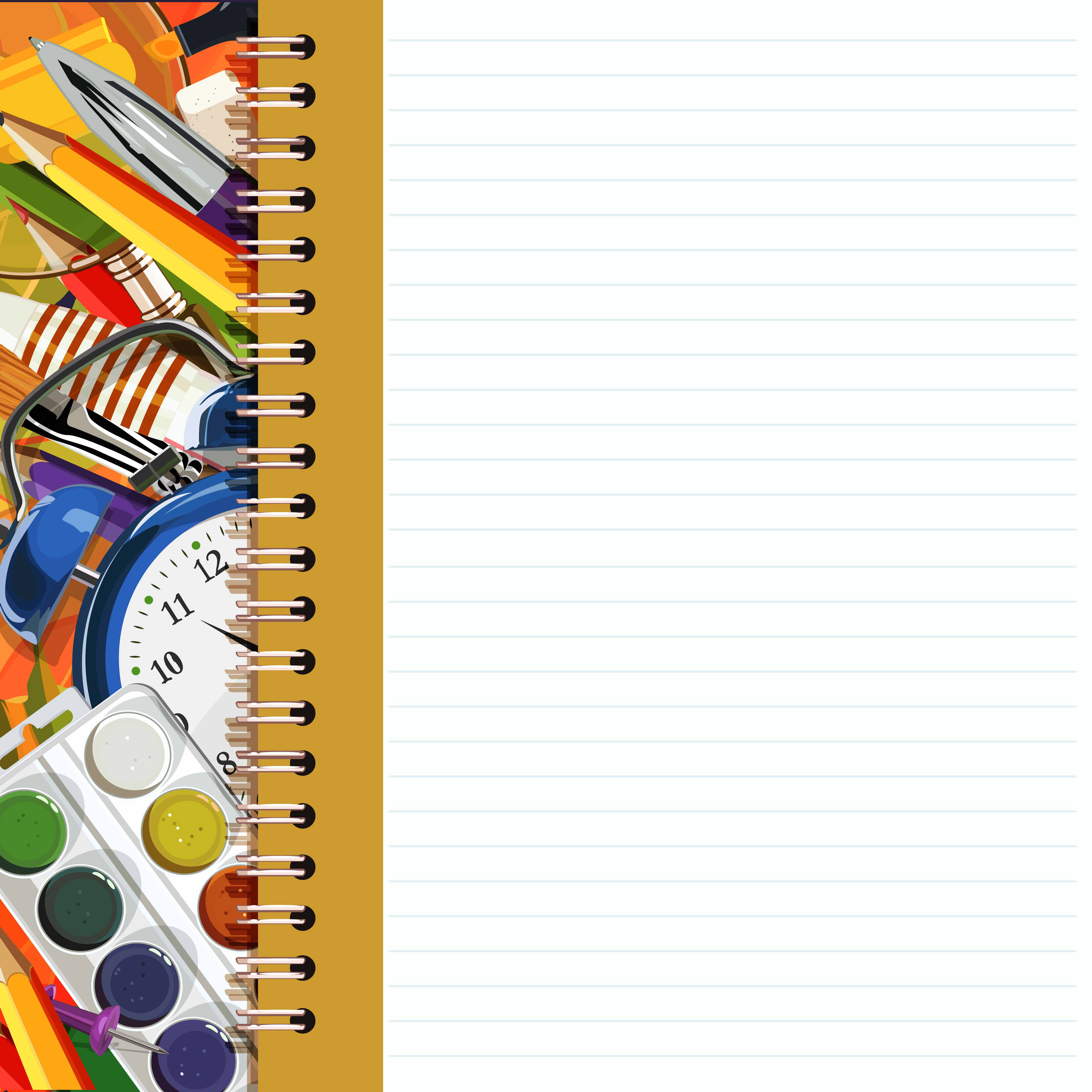 Notebook clipart school notebook Wallpaper Notebook Quality Yopriceville Gallery