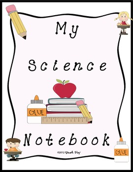 Notebook clipart science notebook  Traveling Teachers Notebook by