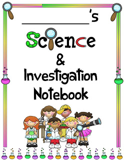Notebook clipart science notebook & Rockin' Investigation Notebook for