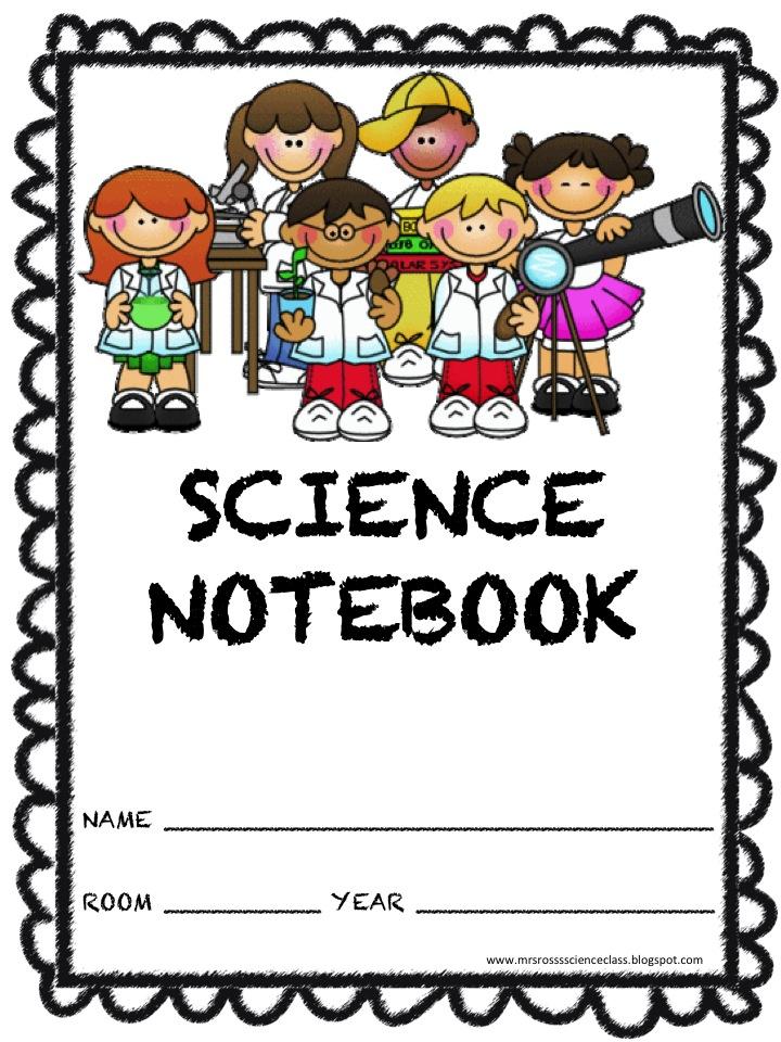 Notebook clipart scientist  Mrs July Art Free