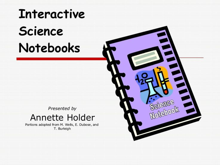 Notebook clipart scientist Interactive best Science Science Notebooks