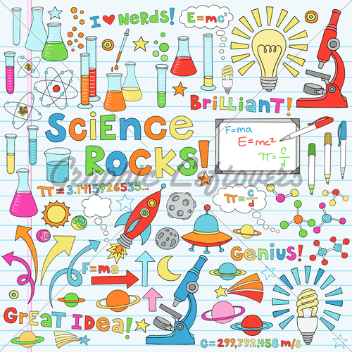 Notebook clipart scientist Http://cloud doodles  Pinterest graphicleftovers