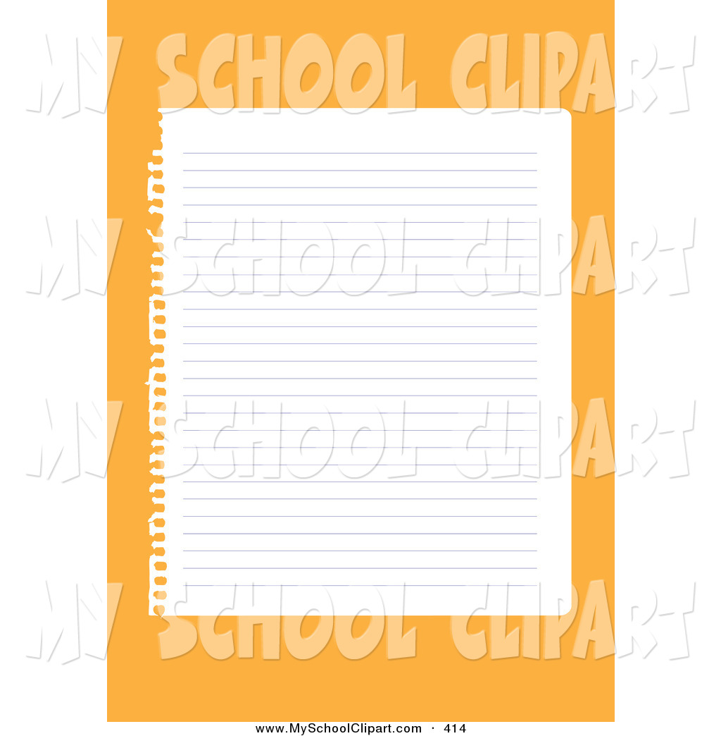 Notebook clipart sheet paper Clipart Clipart Paper Clipart Panda