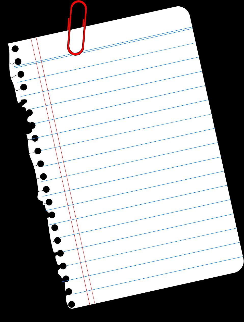 Notebook clipart sheet paper Png Notebook com Sheet PNG