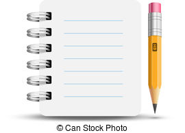 Notebook clipart spiral notebook Csp13340758 Art spiral Clipart Spiral