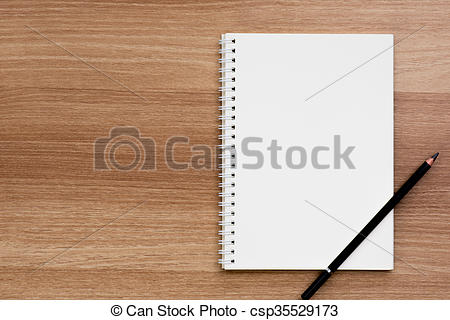 Notebook clipart spiral ring Picture surface a csp35529173 ring