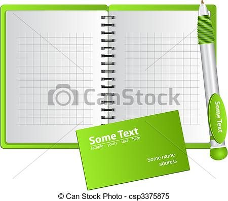 Notebook clipart square Square  notebook and Clipart