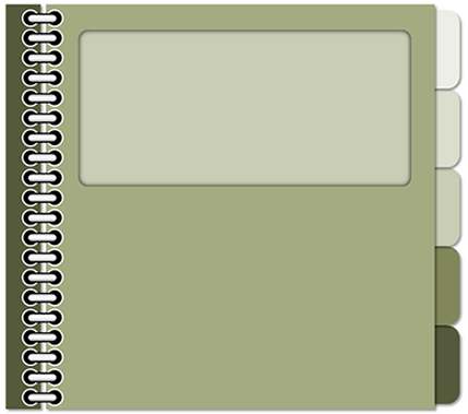 Notebook clipart tabbed PowerPoint interaction free Learning and