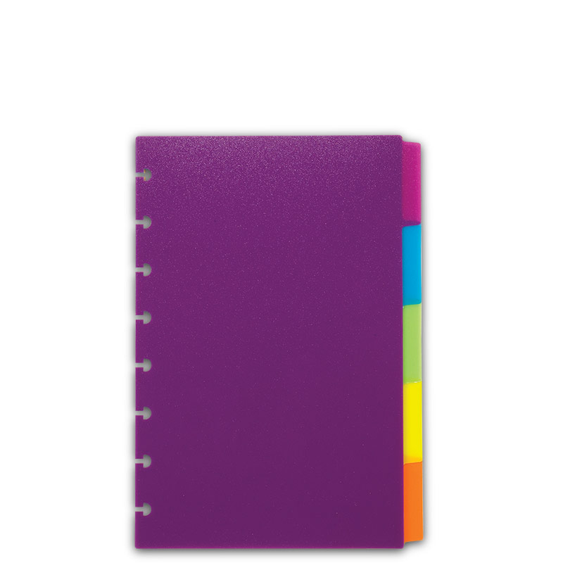 Notebook clipart tabbed Vivacious Levenger Vivacious Dividers Colorful