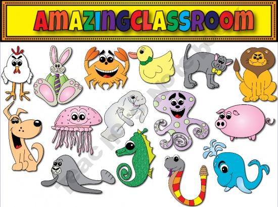 Notebook clipart teacher On Art Clip images Animals