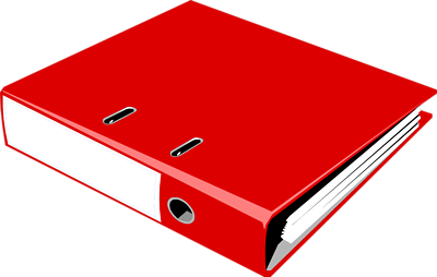 Notebook clipart three Notebook A Clipart Picture Art