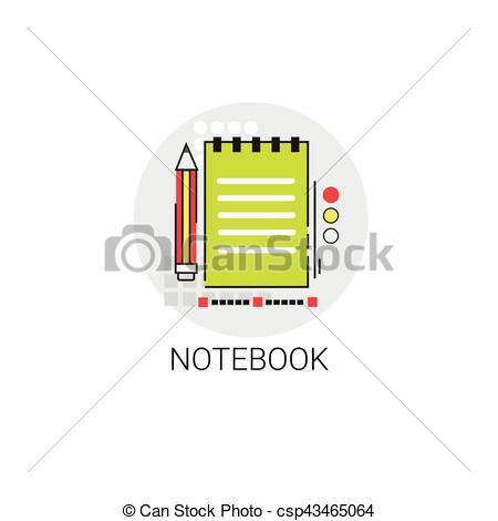 Notebook clipart workbook Notebook Clip Notebook Writing Tool